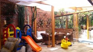 Playground e sala de estar